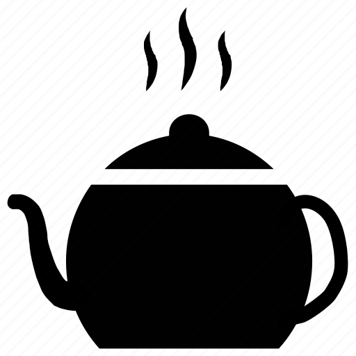 hot tea, tea, teakettle, teapot icon