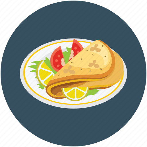 food, meal, salad, vegetarian meal icon