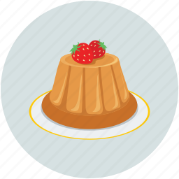 food, jelly, strawberry, sweet icon