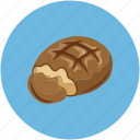 biscuit, chocolate, chocolate biscuit, dessert icon