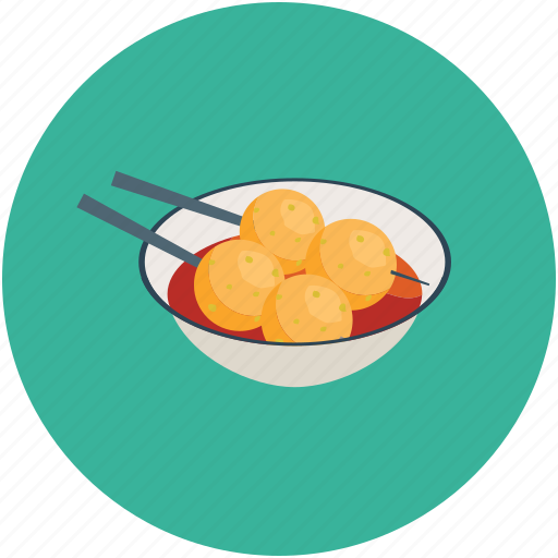bowl of food, chinese food, chopsticks, food icon