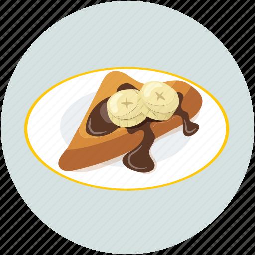 chocolate cake, dessert, slice, sweet icon