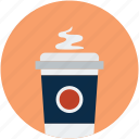 disposable cup, coffee cup, hot coffee, paper cup