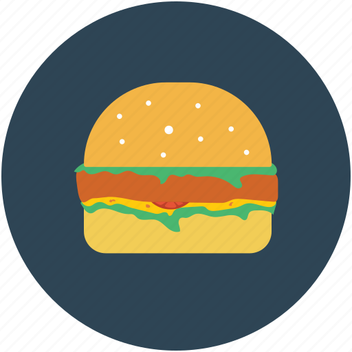 burger, fast food, food, junk food icon