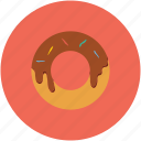dessert, doughnut, food, sweet icon