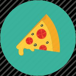 food, pizza, pizza slice, slice icon