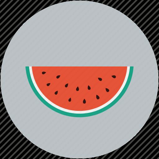 food, fruit, slice, watermelon icon