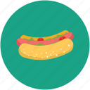 food, hot dog, sausage, wiener icon
