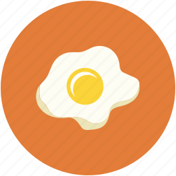 breakfast, egg, food, fried egg icon