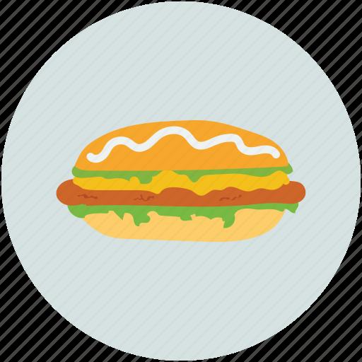 burger, fast food, food, junk food icon