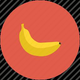 banana, food, fruit, healthy food icon