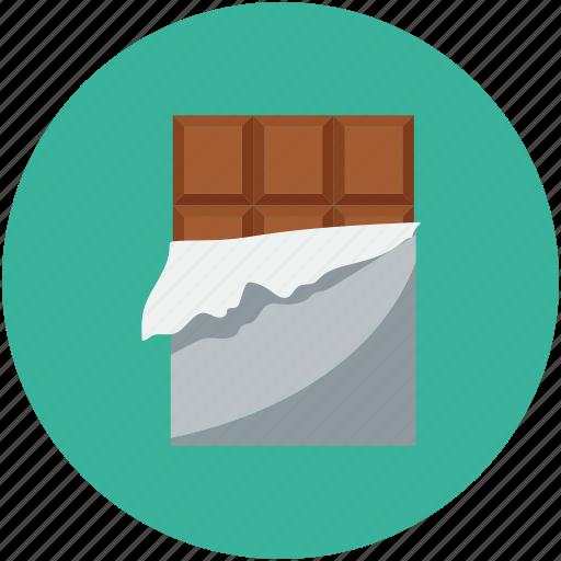 Chocolate, chocolate bar, dessert, sweet icon - Download on Iconfinder