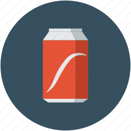 beverage, drink, soda, soda can icon