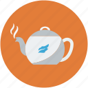 hot, tea, teakettle, teapot icon