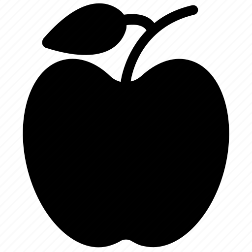 apple, fresh, fruit, healthy diet icon
