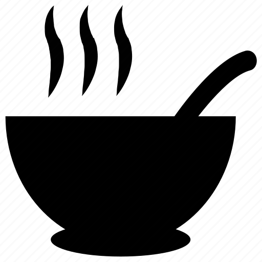 bowl, chinese soup, hot, soup icon