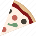 pizza, slice