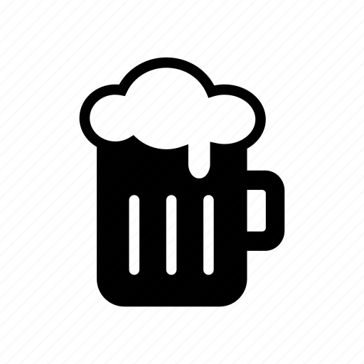 Alcohol, beer, beverage, bottoms up, drink, happy hour, mug icon - Download on Iconfinder