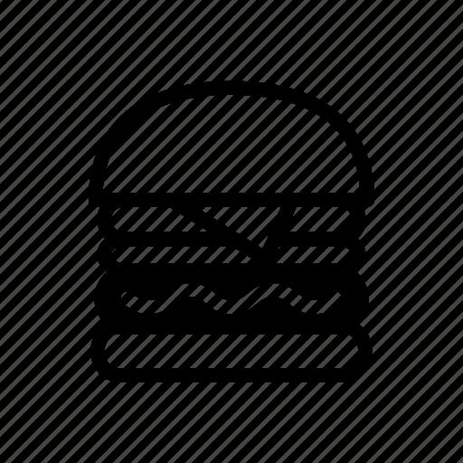Burger, cheeseburger, fast food, food, hamburger, junk food, restaurant icon - Download on Iconfinder