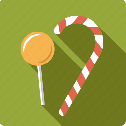 candy, candy cane, food, lollipop, stick, sweet icon