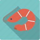 animal, crustacean, food, prawn, seafood, shrimp icon