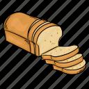 bake, bakery, bread, wheat
