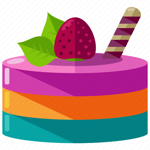 bakery, cake, celebration, dessert, food, sweet icon