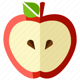 apple, food, fruit, health, healthy, sweet icon