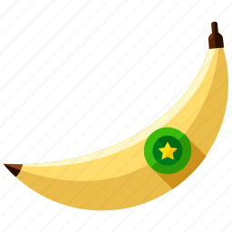 banana, food, fruit, health, healthy, tropical icon