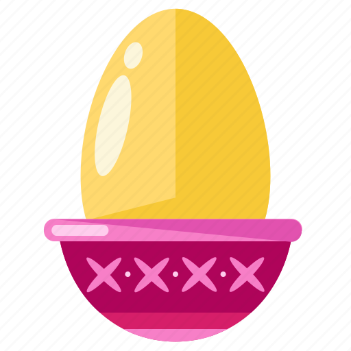 boiled, breakfast, egg, eggs, food icon
