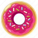 doughnut, bakery, donut, eat, food, sweet