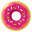 bakery, donut, doughnut, eat, food, sweet icon