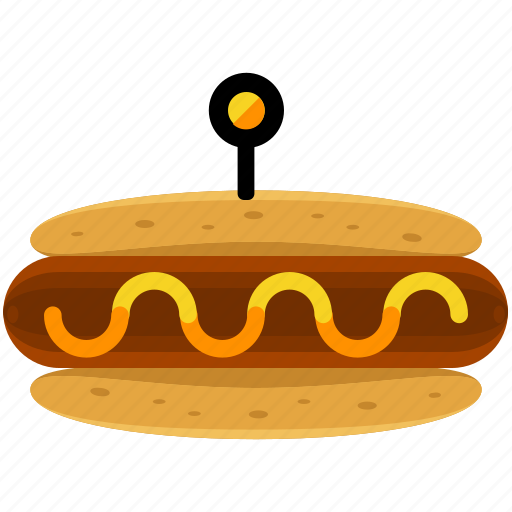 fast, food, hot, hotdog, sausage, takeout icon