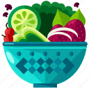 salad, eat, food, healthy, meal, vegetable icon