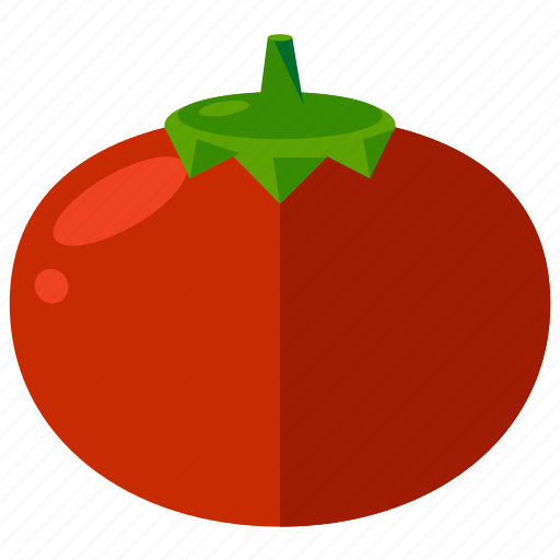 food, healthy, meal, tomato, vegetable icon