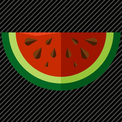 food, fruit, healthy, melon, water, watermelon icon