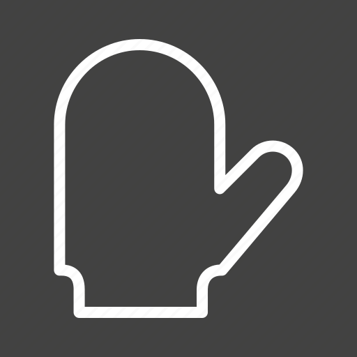 bake, baking, equipment, gloves, hand, kitchen, protection icon