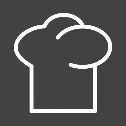 baker, cap, chef, cook, hat, professional, uniform icon