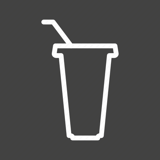 cup, drink, food, juice, lunch, meal, plastic icon