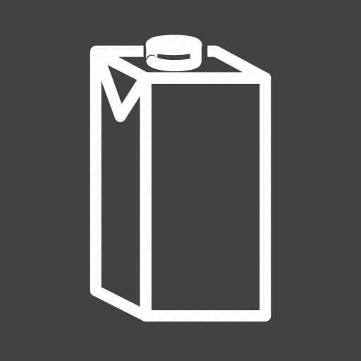 breakfast, coffee, container, dairy, liquid, milk, milk box icon