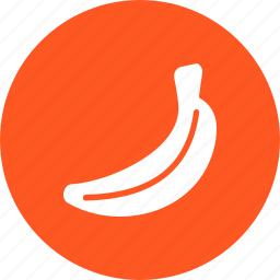 bananas, eat, food, fruit, healthy, natural, peel icon