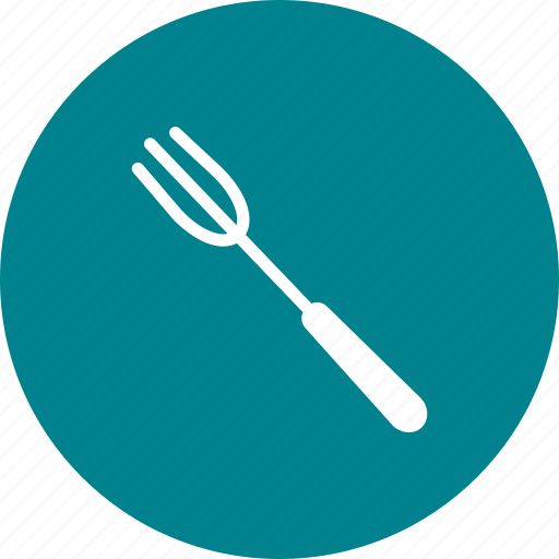 cut, cutlery, eat, food, fork, meal, table icon