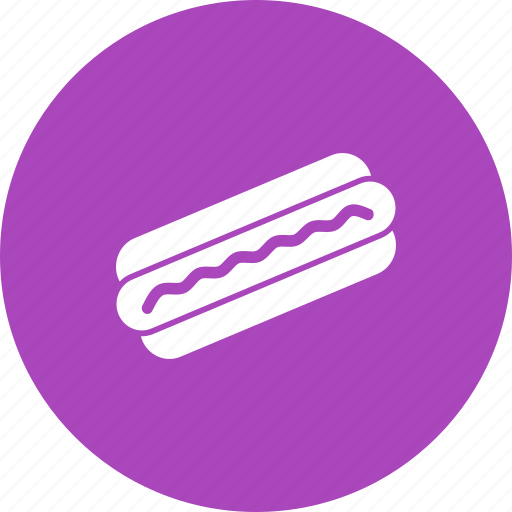 eat, fast food, grilled, hot dog, quick meal, sausage, snack icon