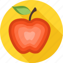 apple, crab apple, fresh, fruit, health, healthy, pippin icon
