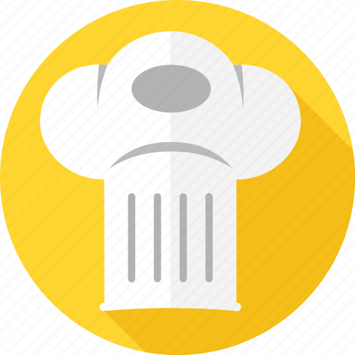 cap, chef, cooking, hat, hotel, restaurant, toque icon