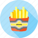 chips, finger chips, fingerchips, french, frenchfries, fries, potato icon
