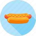 breakfast, fast food, fastfood, food, foodstuff, hotdog, junkfood icon