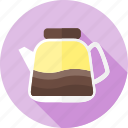 beverage, coffee, drinkware, hot, kettle, serveware, tea icon