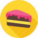 bakery, cake, chocolate, cream, dessert, pastry, snack icon