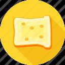 bakery, bread, bread omelette, breakfast, sandwich, toast, toaster icon